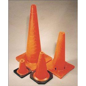 Cone Orange 28'' avec Réflecteur