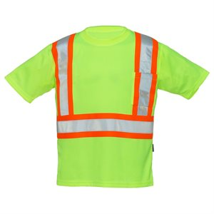 FORCEFIELD short sleeves T-Shirt with reflective Stripes