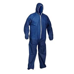 Disposable navy coverall