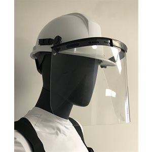 Kit casque avec visière