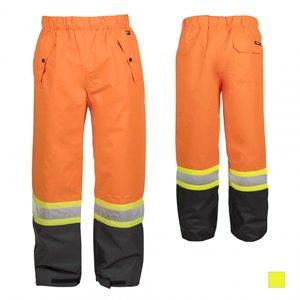 Pantalon imperméable haute visibilité TERRA