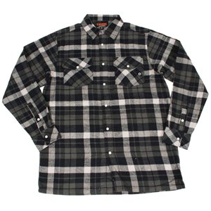 TASK unlined flannel shirt