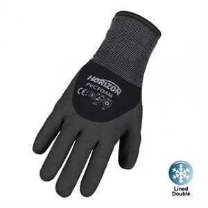 HORIZON PVC foam dipped work gloves