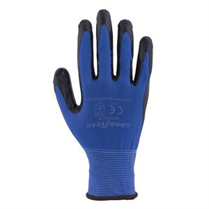 GOOD YEAR nitrile coated gloves (10 pairs)