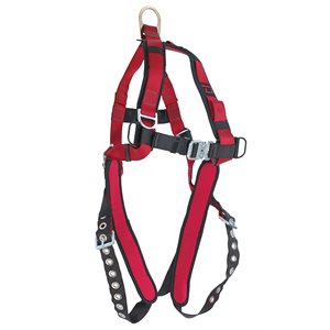 Dynamic harness with 1-D ring