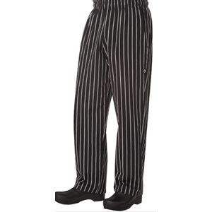 "Pantalon ""BAGGY"" ligné CHEFWORKS"