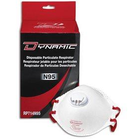 Respirateur Jetable N95 avec Valve Dynamic