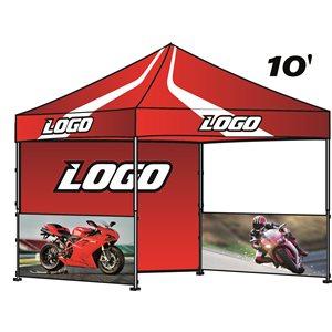 Tente 10' x 10' sub RECTO / VERSO complète