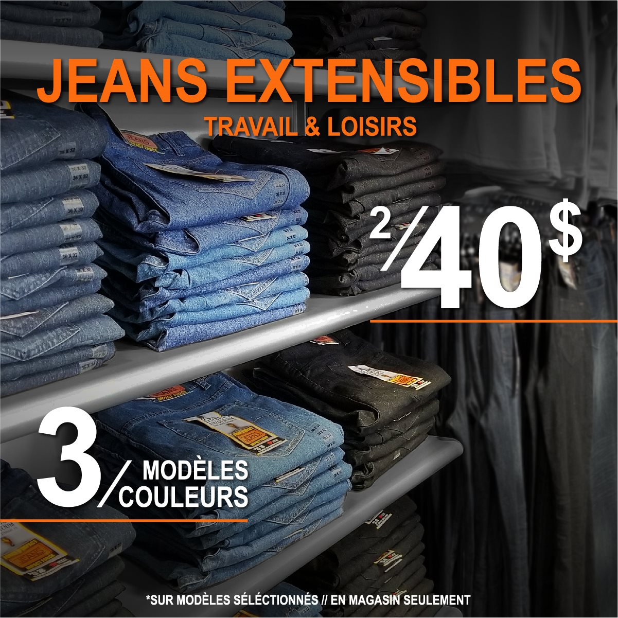 GESTOCK-ORANGE RIVER JEANS 2 POUR 40-03